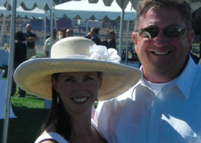 Ken & Chris - Polo Classic for Ronald McDonald House Fund Raiser