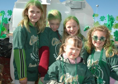St. Patty Fun at The Onion - Parade day